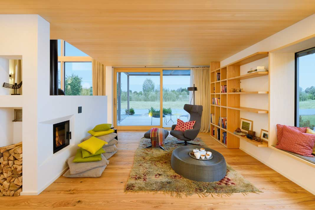 Holz als universalbaustoff und sympathietr ger livvi de for Holzhaus modern innen
