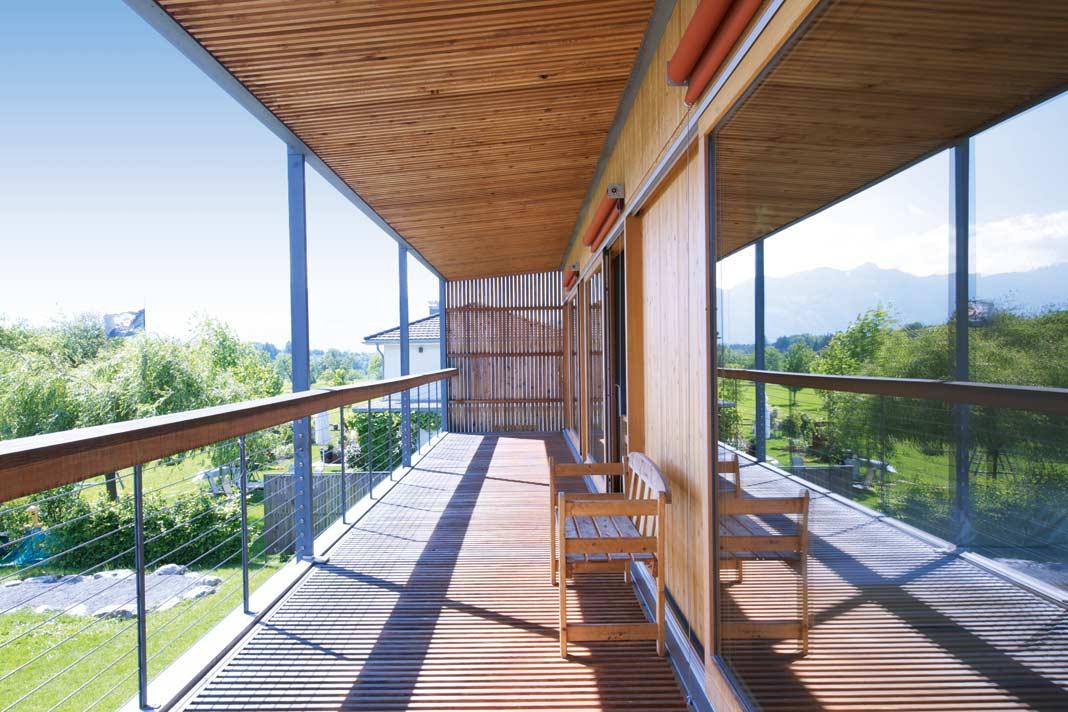 Öko Haus Wald Design