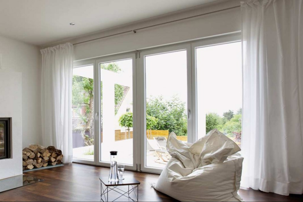 Ehrfürchtig Gardinenvorschläge Für Große Fenster Schema