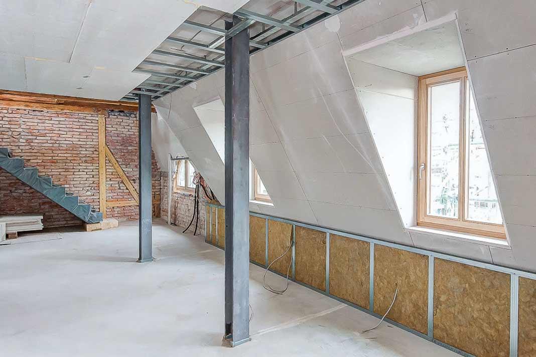 Fototapete dachgeschoss haus design und möbel ideen