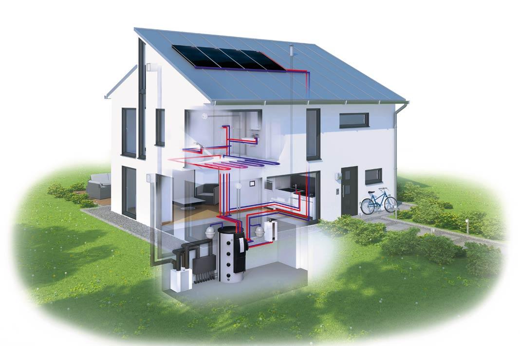 Wie ein energiekonzept f r ein wohnhaus aufgehen kann for Energiekonzept haus