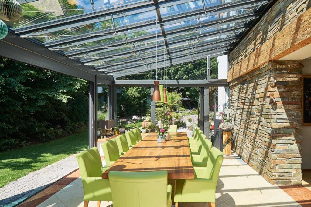 so baut man einen wintergarten an livvi de. Black Bedroom Furniture Sets. Home Design Ideas