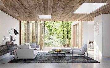 Hochwertige, bodentiefe Fenster mit ausgeklügeltem Faltsystem