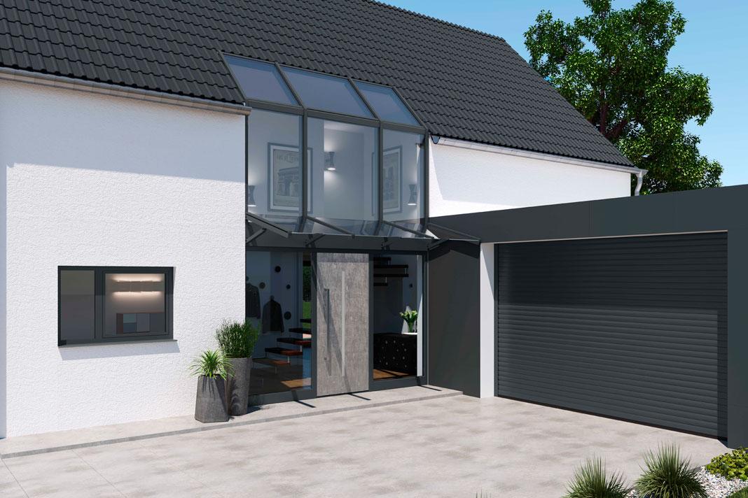 Bodentiefe Fenster können auch nachträglich eingebaut werden.
