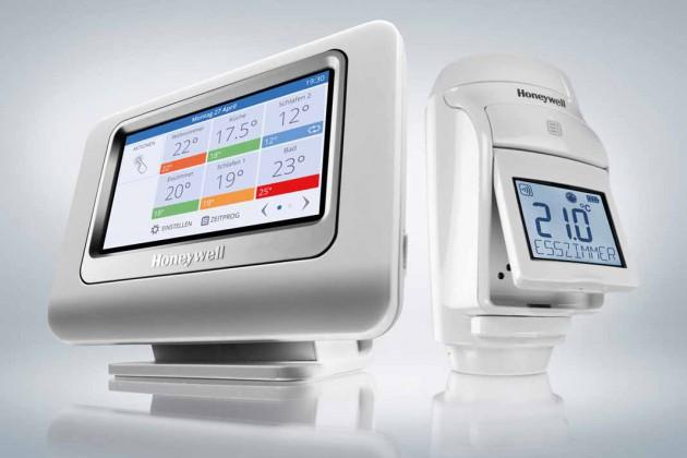 Alle Heiz - körper-Thermostate die im Haus sind über Funkt richtig einstellen.