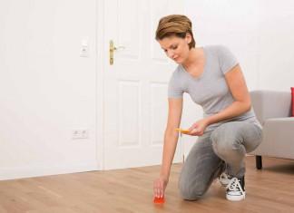 Holzboden ausbessern