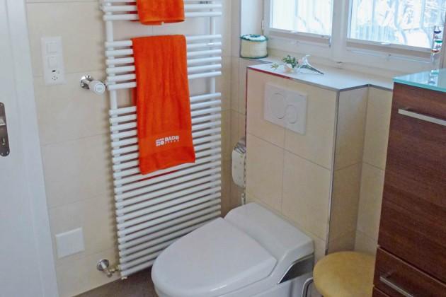modernes Dusch-WC