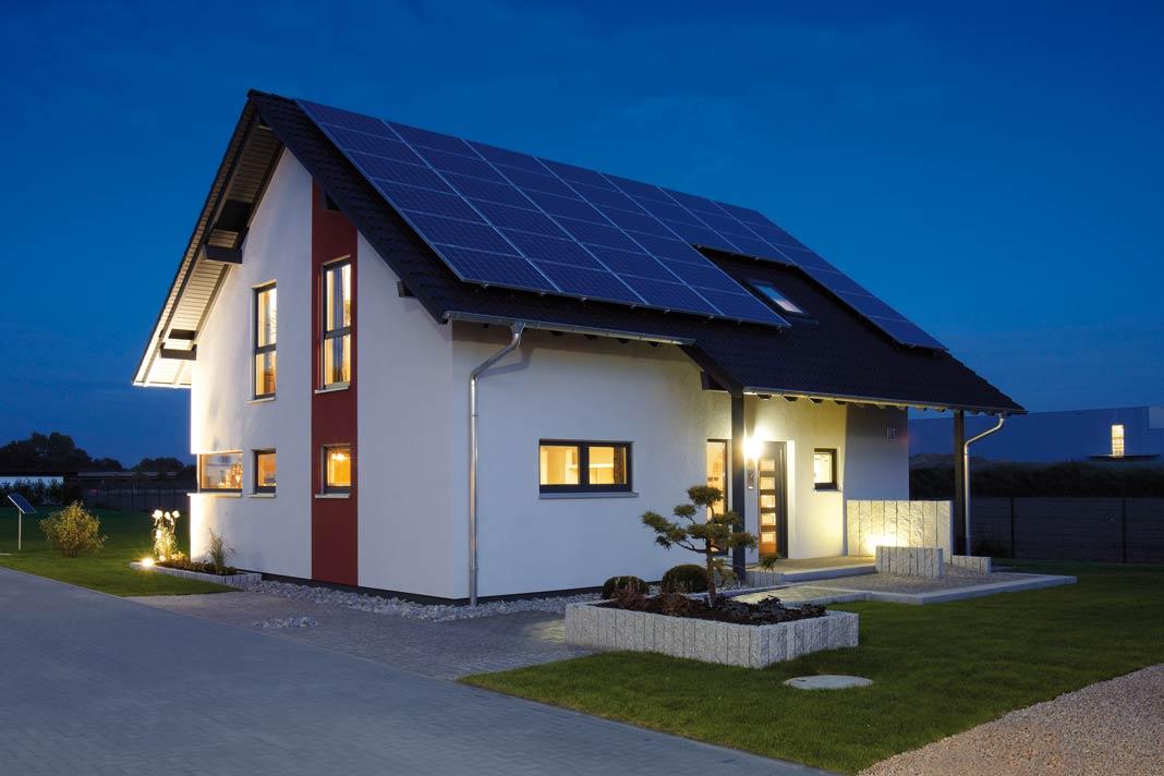 Umweltfreundliches Haus