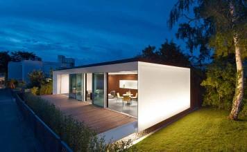 Mit intelligenter Technik ein helles Haus.