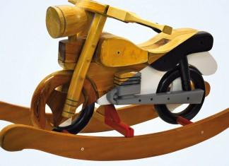 altes Holzspielzeug