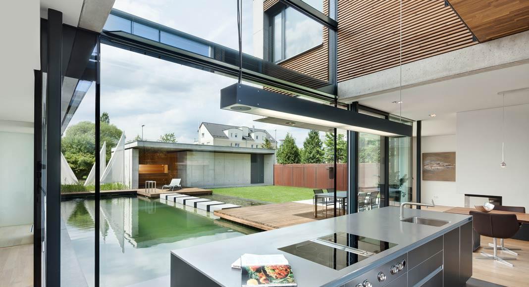 Küche Atriumhaus