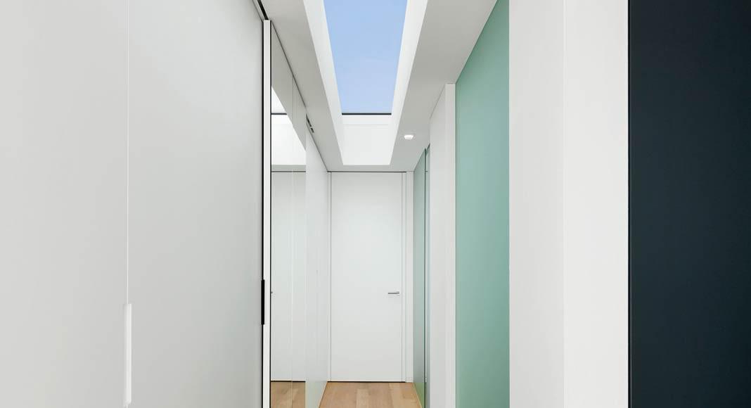 Flur Atriumhaus