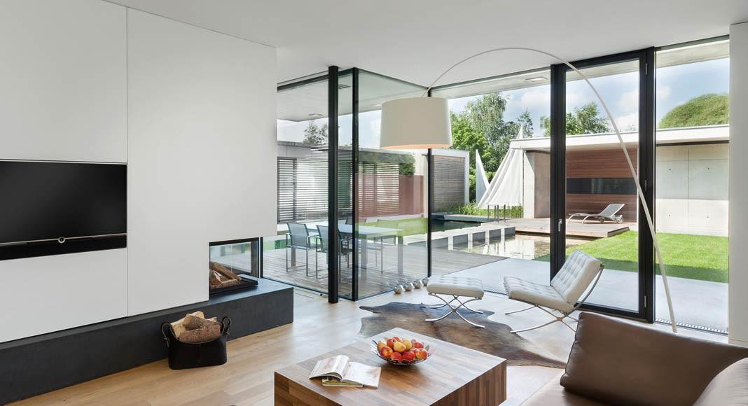 Wohnbereich Atriumhaus