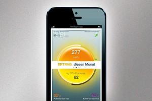 Paradigam-Solarthermieanlage die App des Herstellers