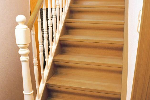 Treppe mit Originalstufen