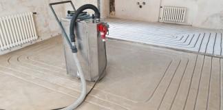 Fußbodenheizung einbauen
