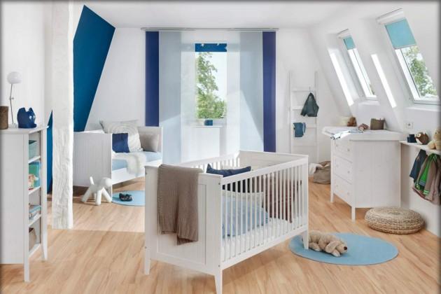 blaues Kinderzimmer