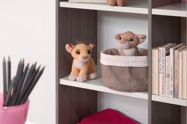 Mit den warmen Farben der Kinderzimmermöbel
