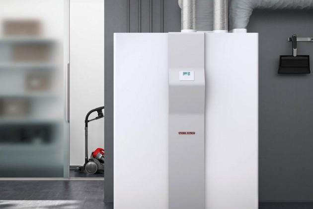 Funktion Lüften, Heizen, Kühlen und Warmwasser-Erzeugung in einem kompakten Gerät.