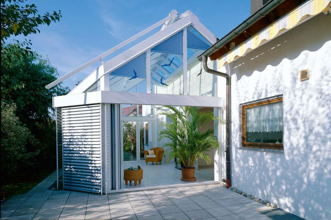 Gläserne Wohnzimmer: der Wintergarten. » LIVVI.DE