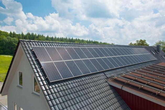 Krannick Photovoltaik-Anlage