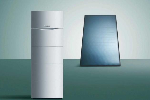 Solar/Gas-Brennwertsysteme