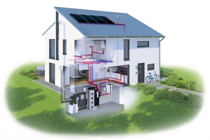 Effizienz Solaranlage