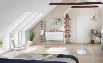 Dachboden umgebaut zum Badezimmer