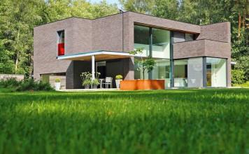 Erneuerungsbau von Schüco Haus