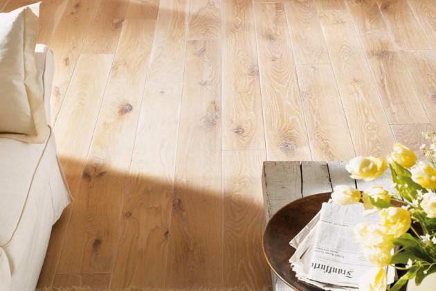 Holzfußböden sind ein Ausdruck eines individuellen Wohn- und Lebensstils.