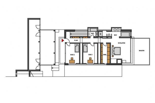 Grundriss Haus am Bodensee