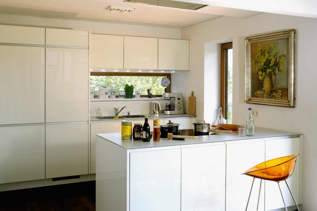 Küche Dynamisches Hanghaus