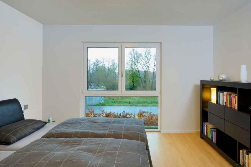 Die Individualräume umfassen einen großzügigen Schlafraum mit separater Ankleide.Foto: Repo