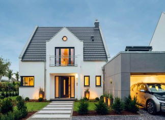 Anspruchsvolle Architektur, verbunden mit umweltschonenden Energiekonzepten, bietet das Zukunftshaus von Arge-Haus.