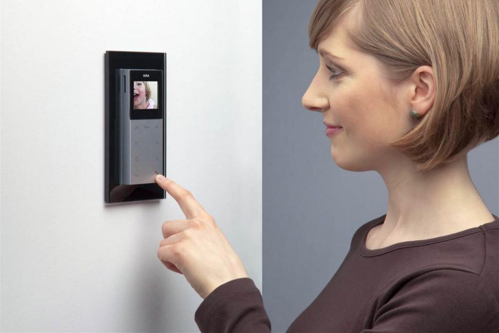 Wohnungsstation mit Videoanlage