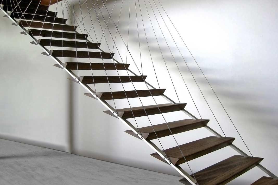... Nicht Nur Bei Sehr Ausgefallenen Treppenkonstruktionen U2013 Wie Dieser  Exklusiven Hängetreppe U2013 Vom Bauherren Eingesehen Werden. Foto: Zeitform  Design