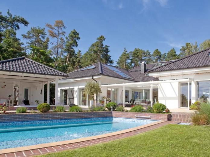 Garten-Villa in Süddeutschland