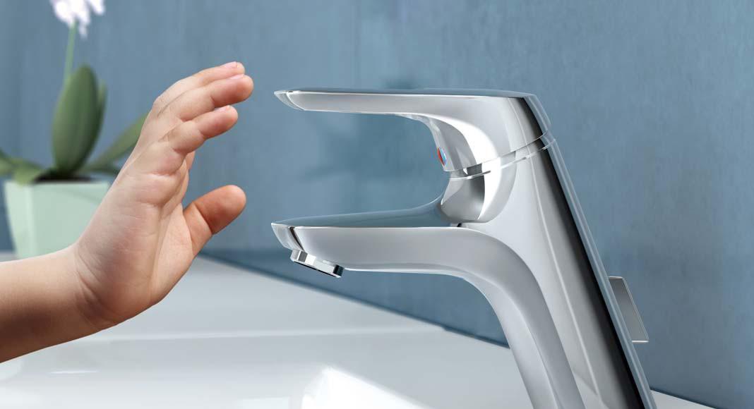 """Die """"IdealPure""""-Technologie sorgt mit seinen komplett vom Messingkörper der Armatur entkoppelten Wasserwegen dafür, dass das Trinkwasser komplett nickel- und bleifrei ist."""