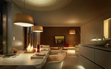 Beleuchtung in Wohnräumen