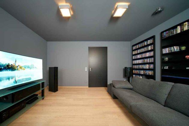 Fernsehraum im Kubushaus
