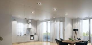Das neue SChiebetürsystem für besonders schwere Türblätter zum Beispiel aus Glas