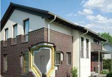 Die zweischalige GUSSEK-Außenwand bildet die Basis für einen hohen Werterhalt des Hauses