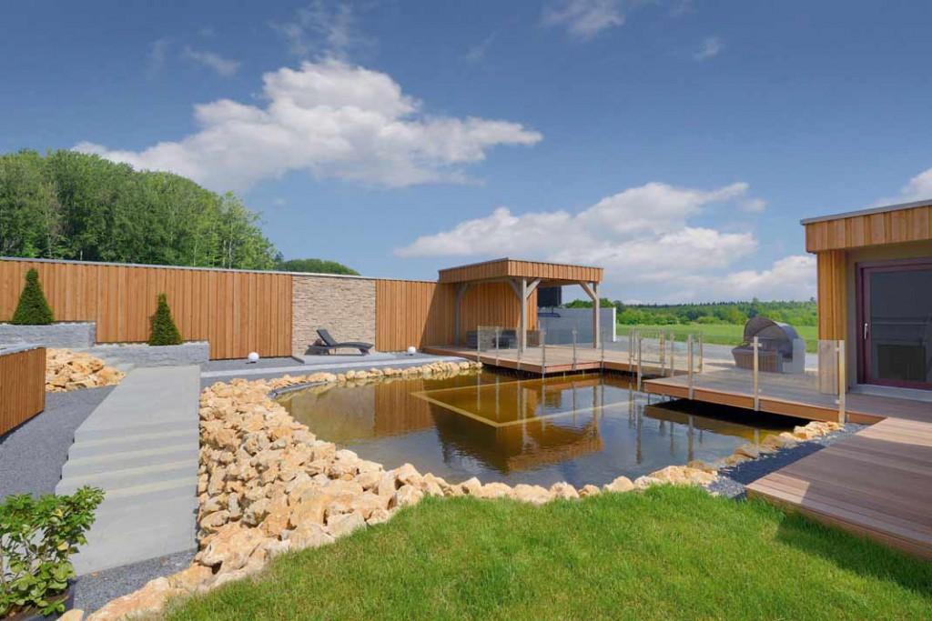 Einfamilienhaus-Special: Ein ansprechend gestalteter Außenbereich ist das i-Tüpfelchen beim Hausbau.