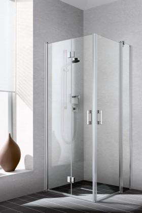 Dusche mit Duschabtrennung