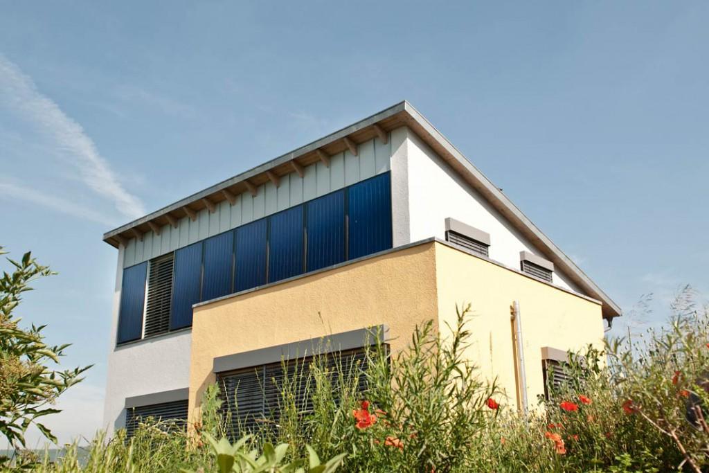 Der beste Platz für eine Solaranlage ist auf dem Dach.