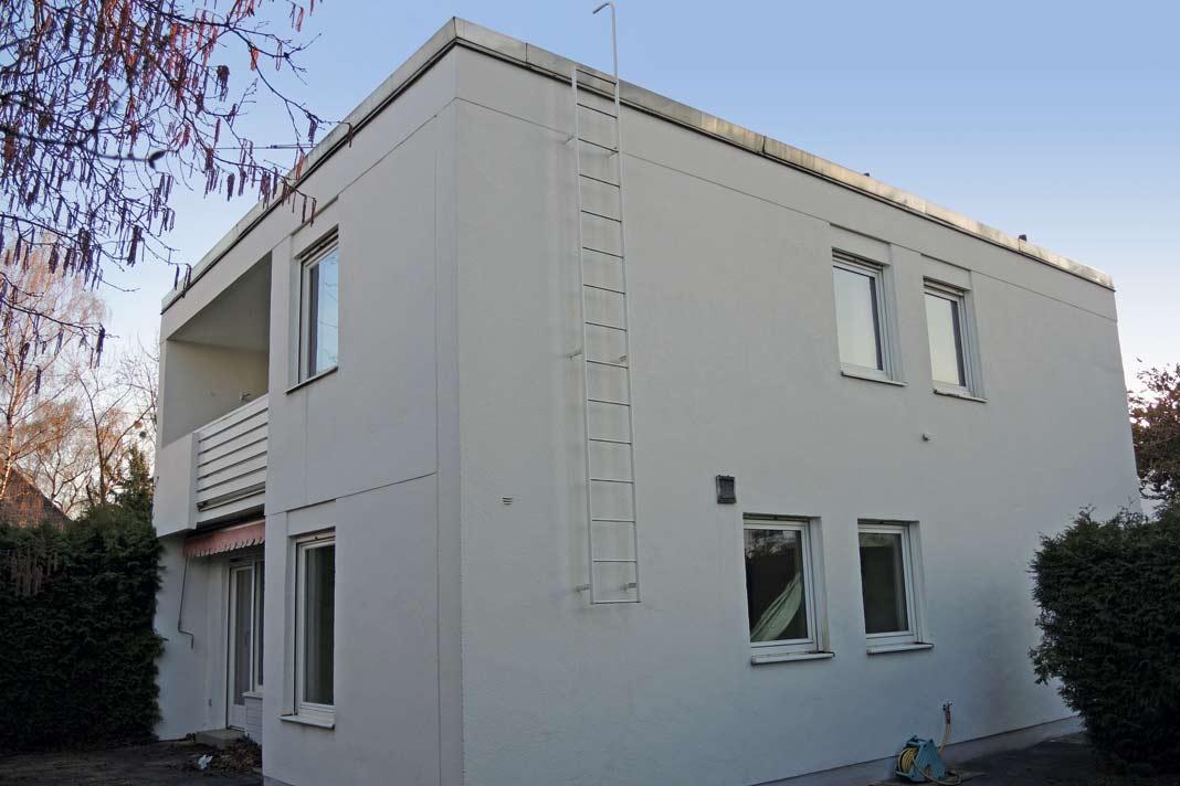... er war eines jener Häuser, von denen Franz Alt sprach, als er sagte, Architekten müssten endlich wieder lernen, wo Süden ist. Foto: Architekt