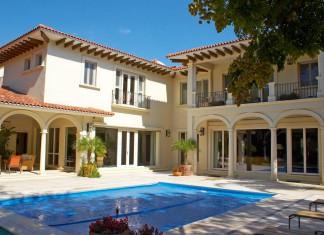 Fenster für Toskana-Villa