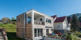 Nachhaltig gebautes Haus von Frammelsberger.