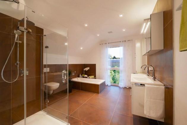 Badezimmer in braun tönen
