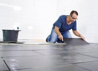 Fliesen legen gehört zu den beliebtesten Heimwerkerarbeiten